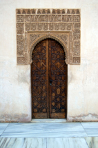 Traditional Moorish doorway